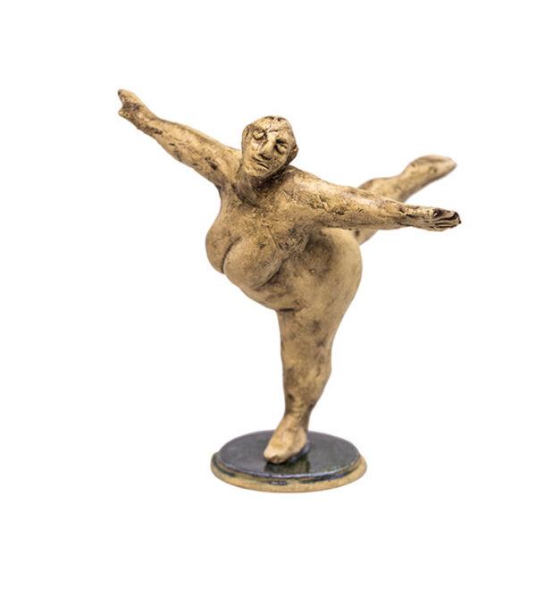 buttet nøgen kvinde, sjov kunst, sjov kunstfigur, sjov gave, klassisk kunstfigur, tyk kvinde figur, tyk kvinde kunst, fed ballerina, tyk ballerina, balletdanserinde, sjove figurer, sjov figur, tyk figur, gave til hende, gave til kunstner, gave til det kunstneriske hjem, bolig med kunst, boligkunst,