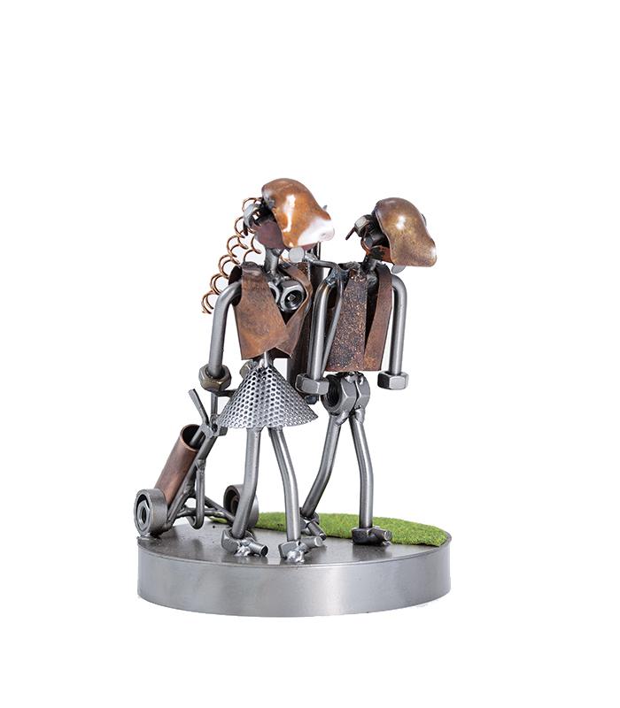 Golfpar spiller golf metalfigur af restmetal, golfpar, golfbaner, golfklubber, golffigur, sjov golffigur, metalfigur med golfspiller, europa touren, teetime, ryder cup qualification, golfturnering, golf tournamants, golf world champion, tiger woods,
