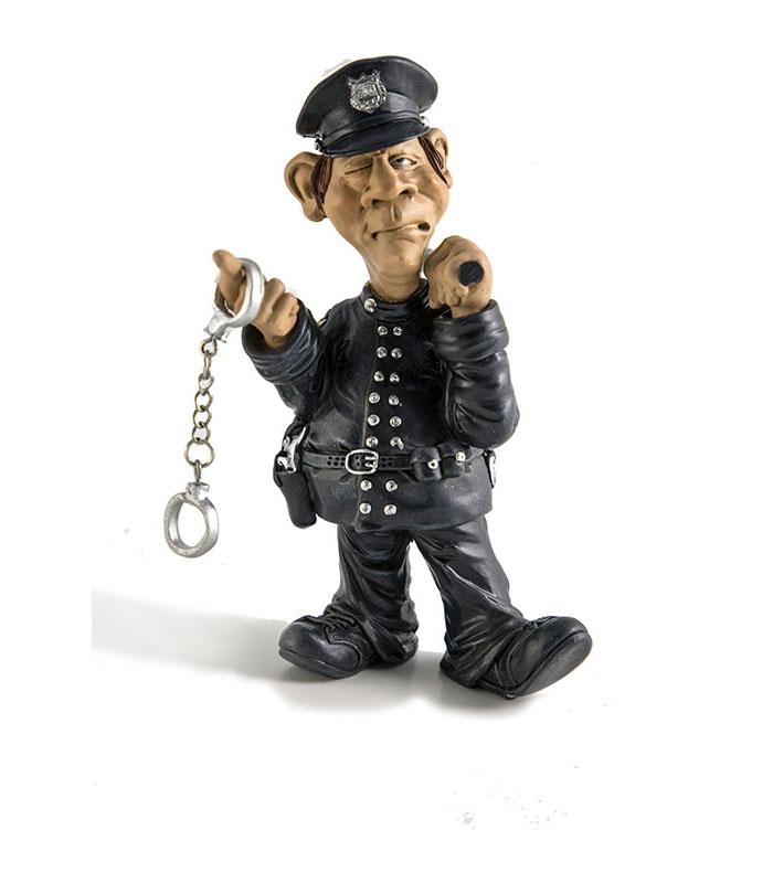 jubilæum gave politi, uddannelse til politibetjent, politielev, politiets indsatsstyrke, gave politibetjent, sjov politibetjent figur