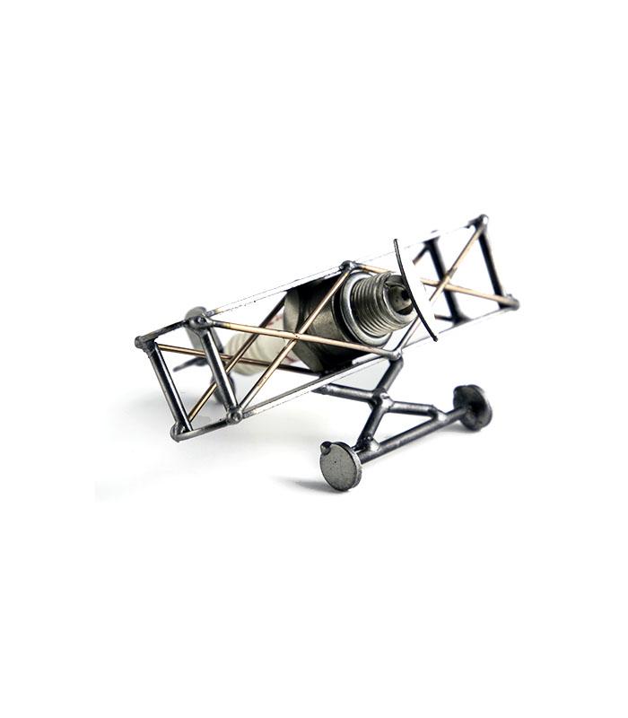 metalfly, modelfly, dobbeltdækker, vintage plane, fly første verdenskrig, fly anden verdenskrig, vintage plane, fly model
