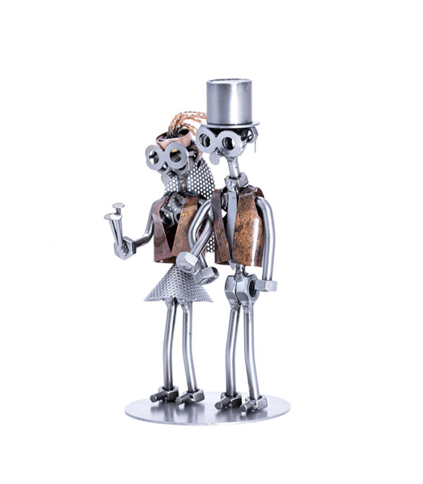 brudepar metalfigur, bryllupssange, indslag til bryllup, bryllupsgve, bruden, wedding couple, bride, bride gift, wedding gift, anniversary gift, wedding party,