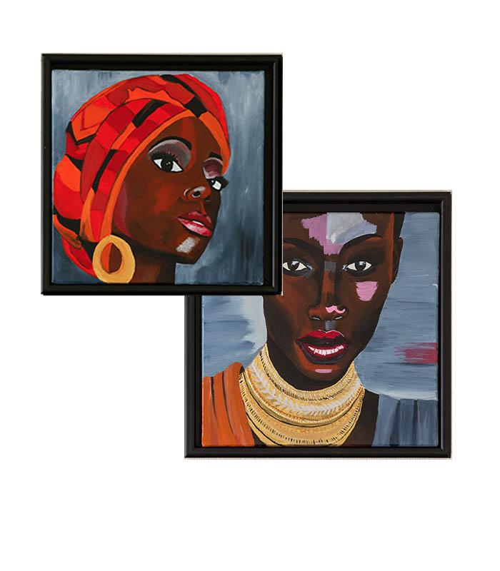 Billeder til væggen, sorte kvinder på kanvas, black women on canvas, pictures on canvas, paintings on canvas, nice paintings on canvas, nice prints on canvas, unique prints on canvas
