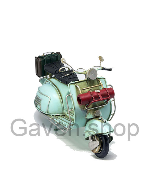 scooter metal model, model metal scooter, scooter mintgreen, retro scooter, scooter interiør, scooter dekoration,, scooter for home interior, new scooter