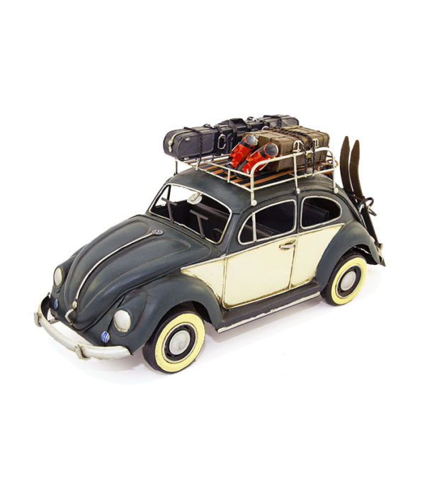 volkswagen deko car, vw bubble deko car, folkevogn til dekoration til ski eller bilentusiasten