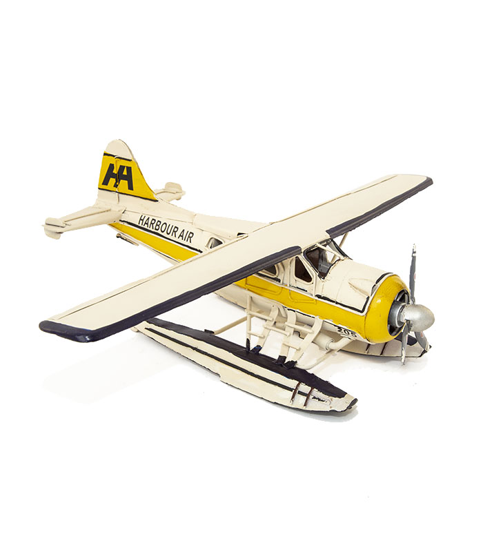 Retro Havilland Beaver seaplane