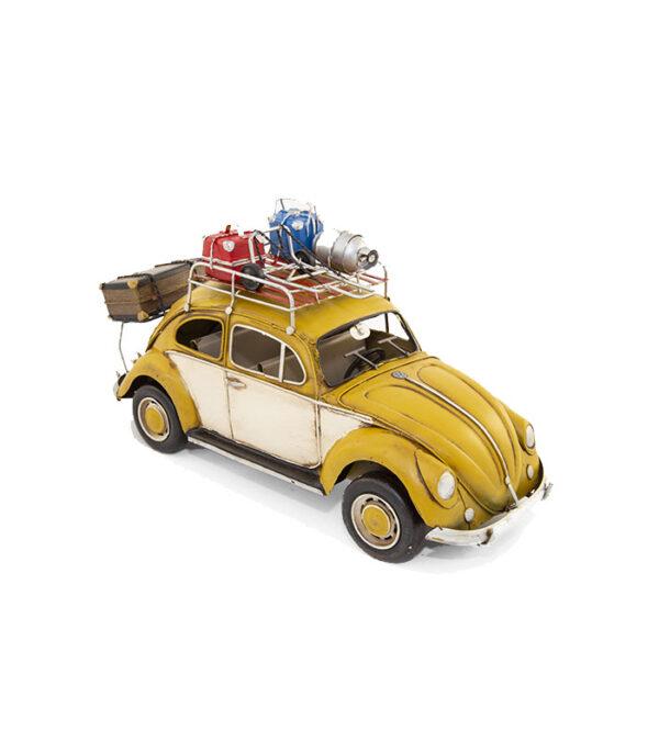 stor retro vw beetle som gave til samler, vw bilentusiast eller flot dekoration i boligindretningen med retro design