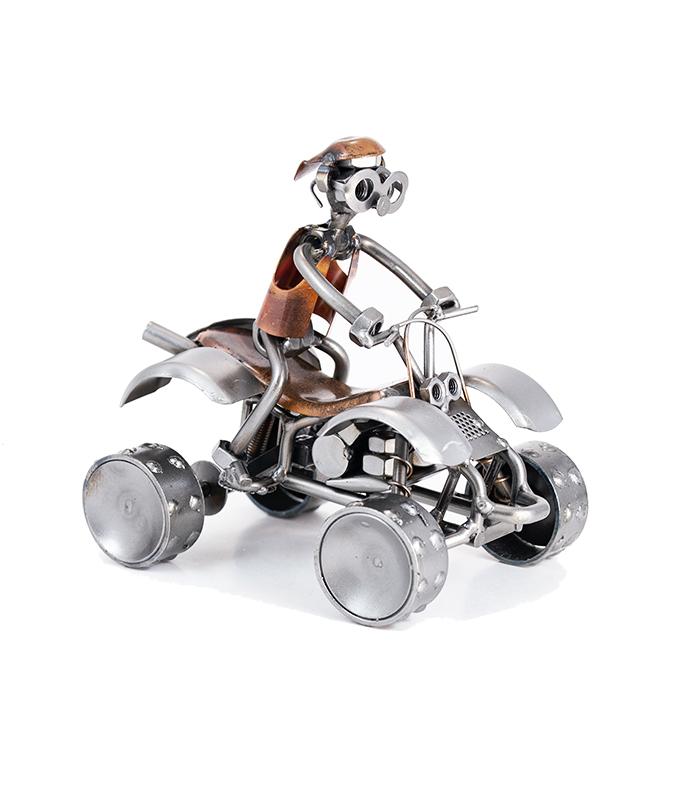 atv quadbike metalfigur