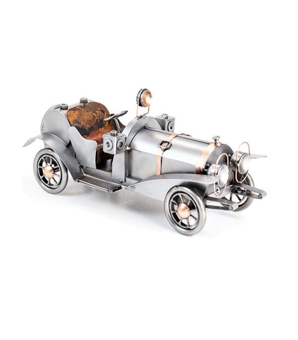 bugatti retro modelbil metalfigur