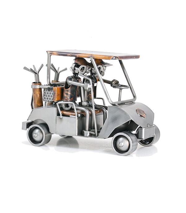 Golfbil med golfspillere , golfbil, golf car, golf metal car, golfudstyr, golfbiler, brugt golfbil, golfvogn, golfspillere, golfspil, golfkonkurrence, golfentusiast gave, golf gave, golfspiller gave, gave golfklub, golf dekoration, golf trofæ, golfkonkurrence, verdensmester golf, golfudstyr, gave til golfspiller, dekoration golfklub