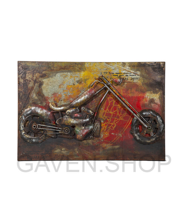 cool metalbillede mc, metalbillede harley davidson, metal picture harley davidson, metal picture live to ride, biker gaveide, gaveideer biker, gaveideen biker, gaver bikere, gave biker, metalbillede mc harley, metal picture harley davidson, rød gul rust billede retro