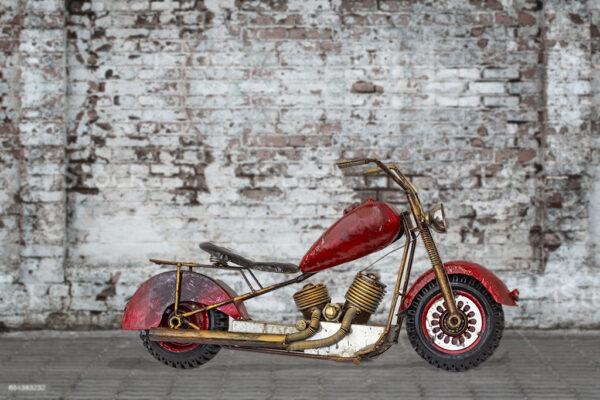 deco motorbike retro