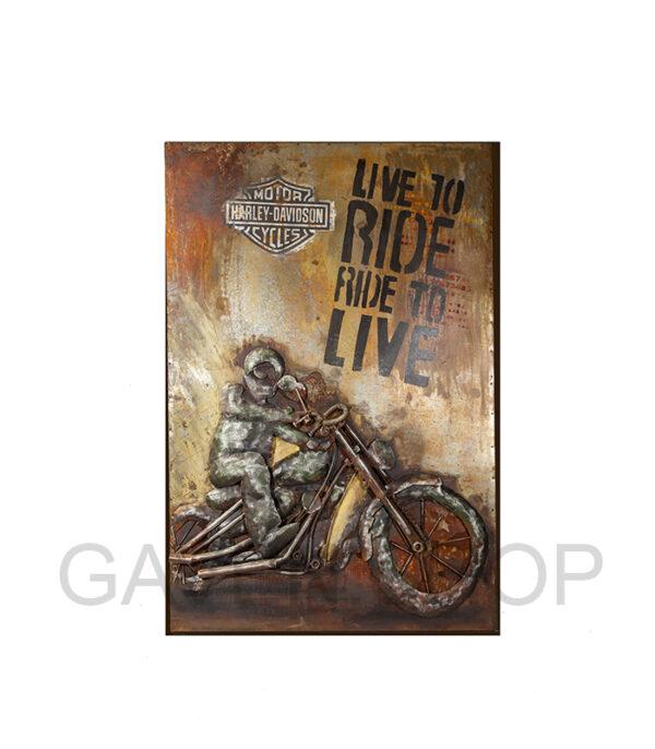 genbrugs metalbillede mc, metalbillede harley davidson, metal picture harley davidson, metal picture live to ride, biker gaveide, gaveideer biker, gaveideen biker, gaver bikere, gave biker, metalbillede mc harley, metal picture harley davidson live, born to ride