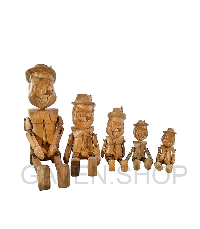 træfigur af pinochio, gaveshop, gavebutik, netbutik gaver, webbutik gaveideer, træfigur, træfigur pinocchio, pinnocio, figur teak, pinocchio teaktræ, pinocchio teaktræsfigur, gave pinocchio træfigur, gaveide træfigur, gaveide kai boysen,