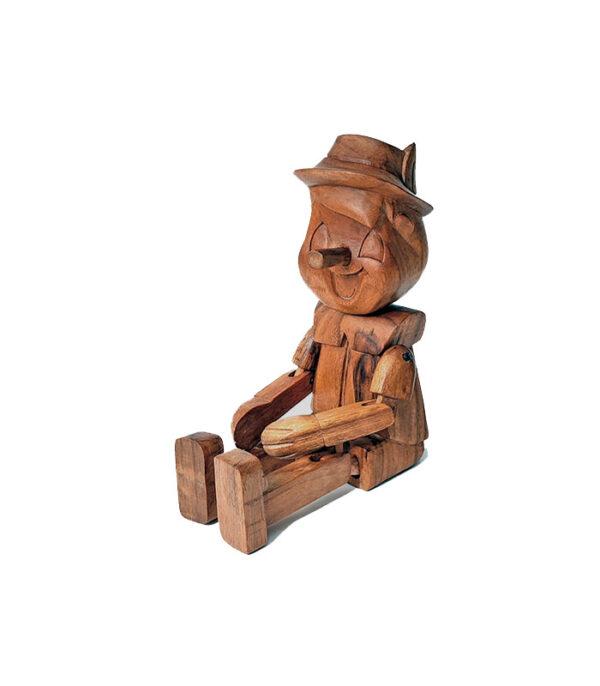 pinohio træfigur