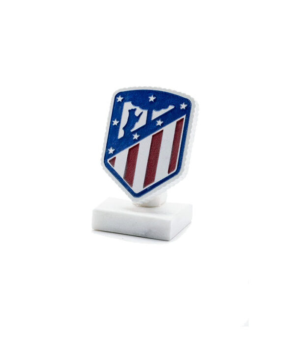Atletico Madrid fodbold logo i marmor