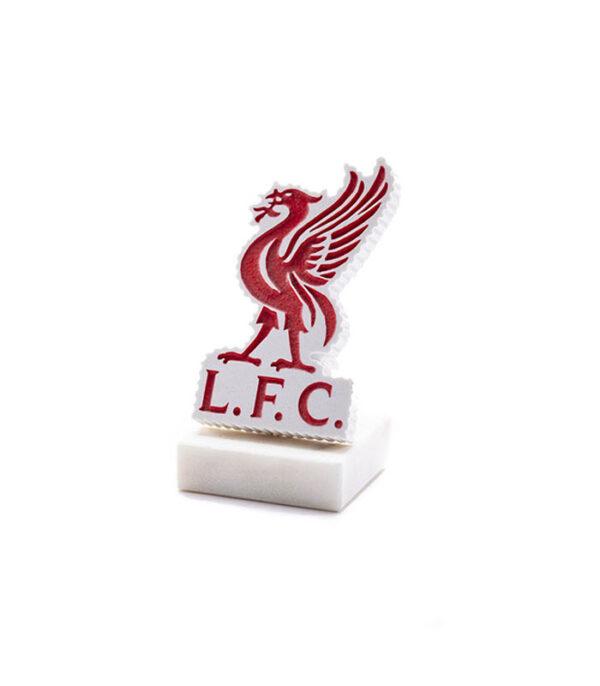 Liverpool fodbold logo i marmor