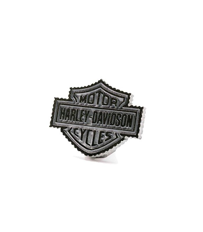 harley davidson logo i granit