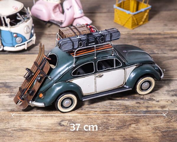 retro vw beetle med ski