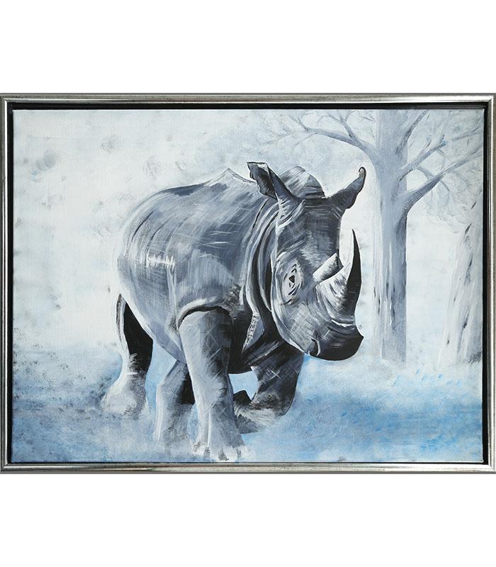 Næsehorn som print, print på kanvas, næsehorn print på kanvas, billede næsehorn, maleri næsehorn, næsehorn plakat, næsehorn til væg, afrikanske dyr print, afrikanske dyr billeder til væg, afrikanske dyr billeder af kunstner, kanvas afrikanske dyr, maleri afrikanske dyr,