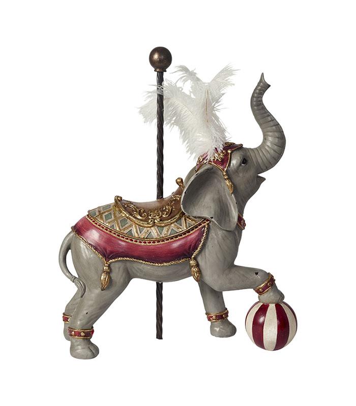Deco cirkus elefant 59cm