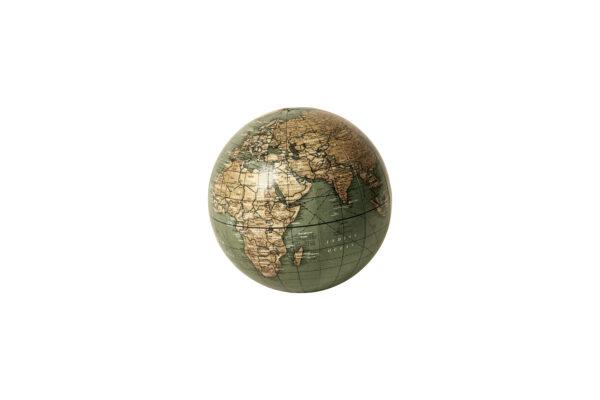 Løs globus 10 cm i to farver