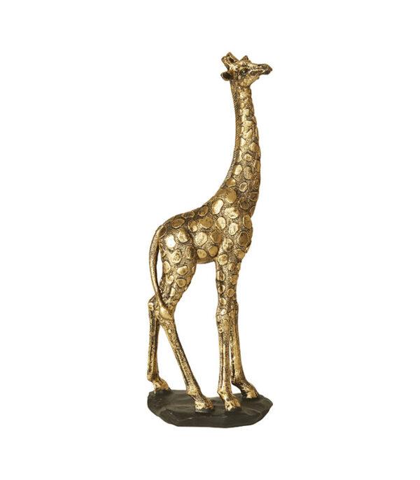 Majestætisk gylden giraf 35cm