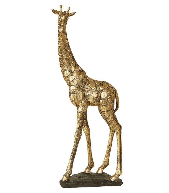 Majestætisk gylden giraf 46cm