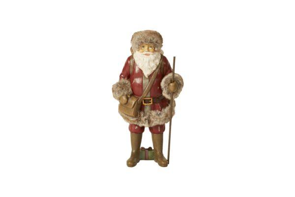 Julemand med sæk 29cm
