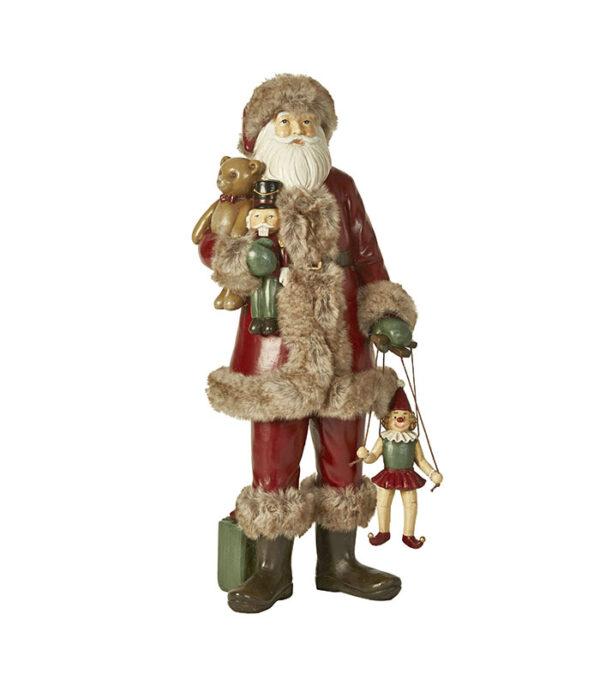 Julemand med gaver 39cm