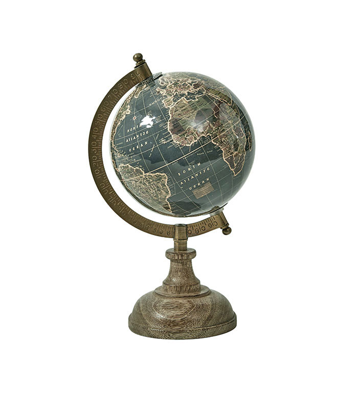 Globus på træfod 23 cm speedtsberg
