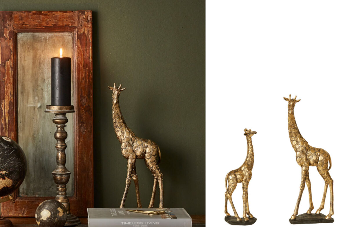 giraffer boliginteriør
