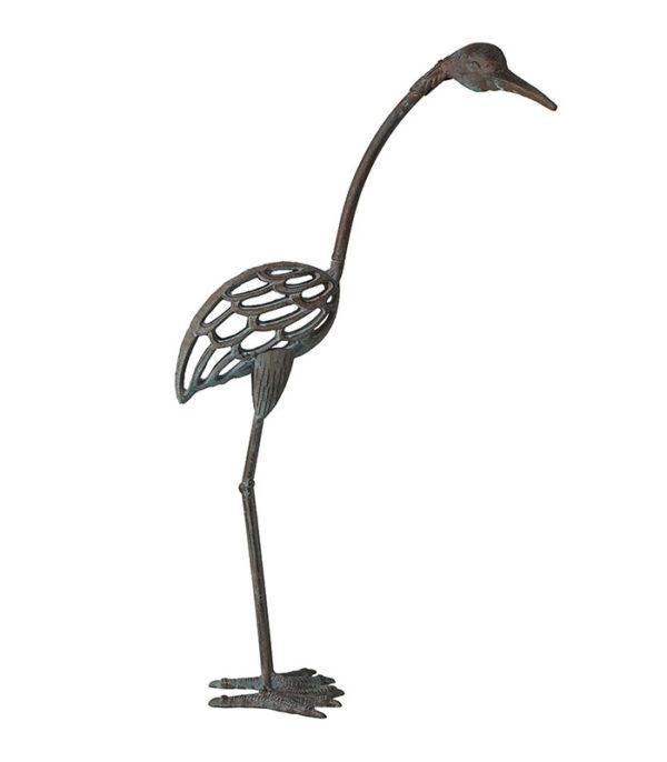 Deko fugl metal 71 cm