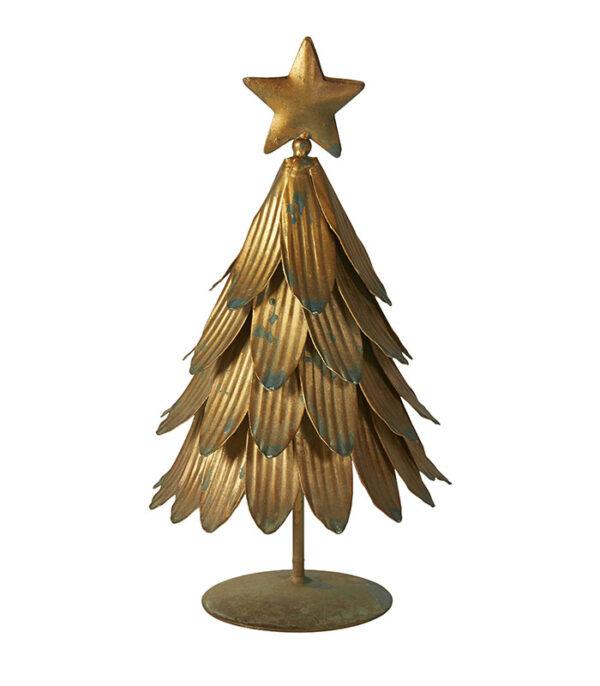 Juletræ med blade metal