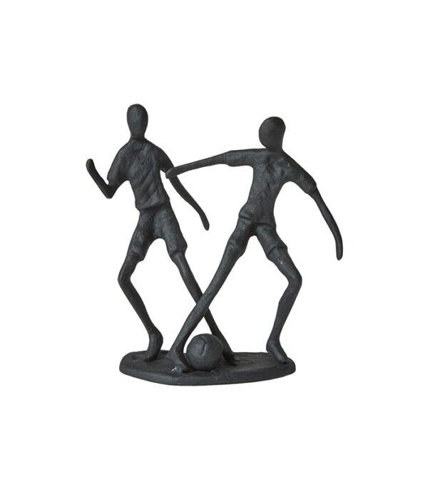 Driblende fodboldspillere figur Figur 14 cm
