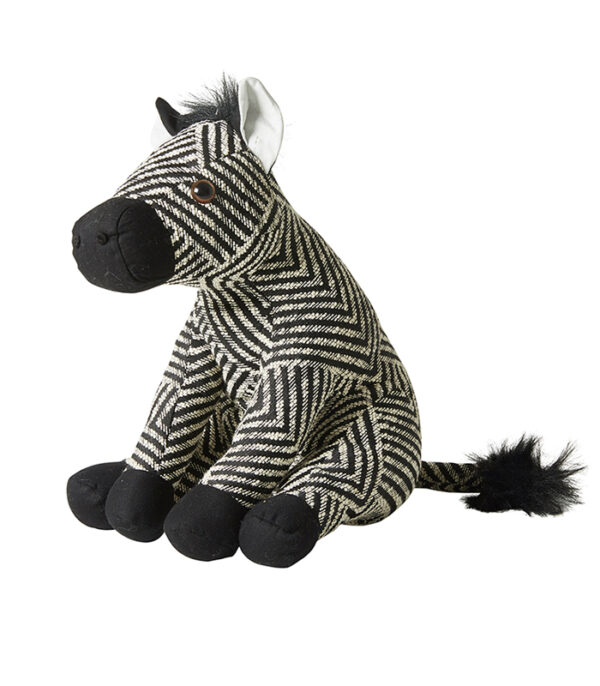 zebra dørstopper