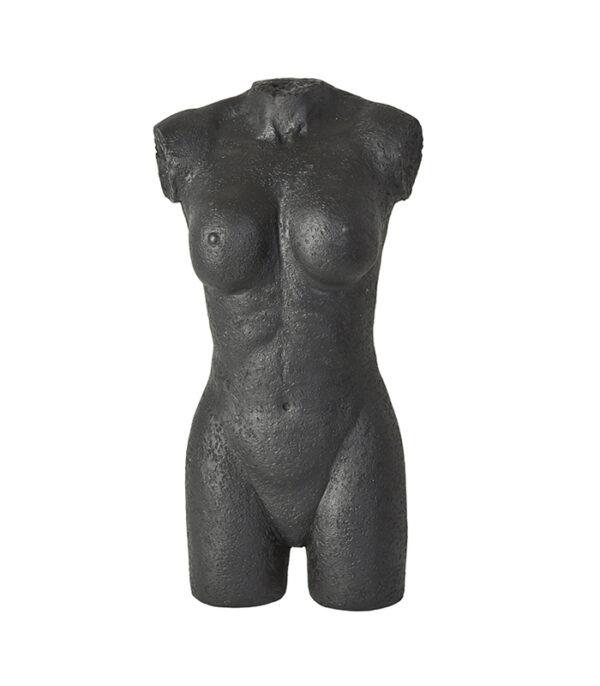 kvinde torso 40cm deko