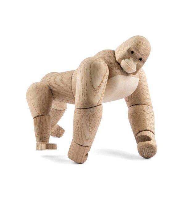 gorilla træfigur dansk design figur