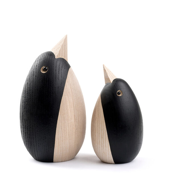 pingvin dansk design træfigur novoform